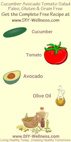 CucumberAvocadoSalad