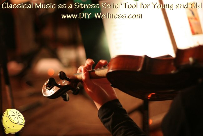 Classical Music as a Stress Relief Tool for Young and Old
