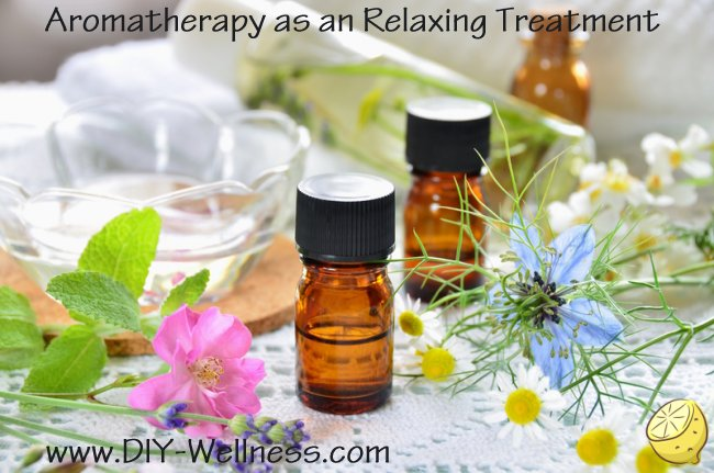 Aromatherapy as a Relaxing Treatment