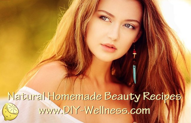 Natural Homemade Beauty Recipes from DIY-Wellness.com