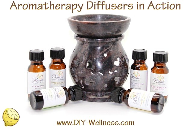 Aromatherapy Diffusers in Action