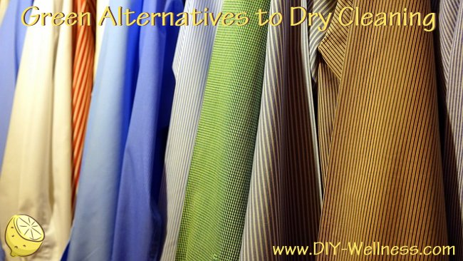 Green Alternatives to Dry Cleaning