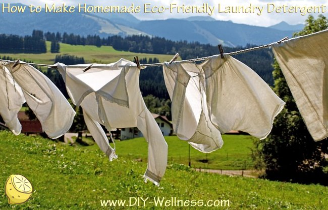 How to Make Homemade Eco-Friendly Laundry Detergent