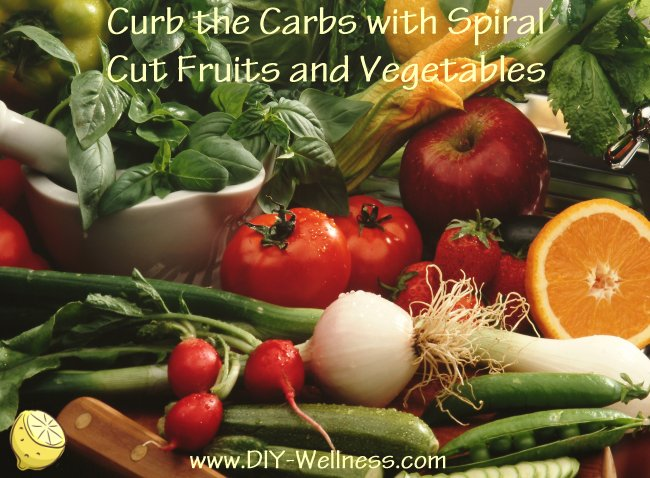 Curb the Carbs with Spiral Cut Fruits and Vegetables