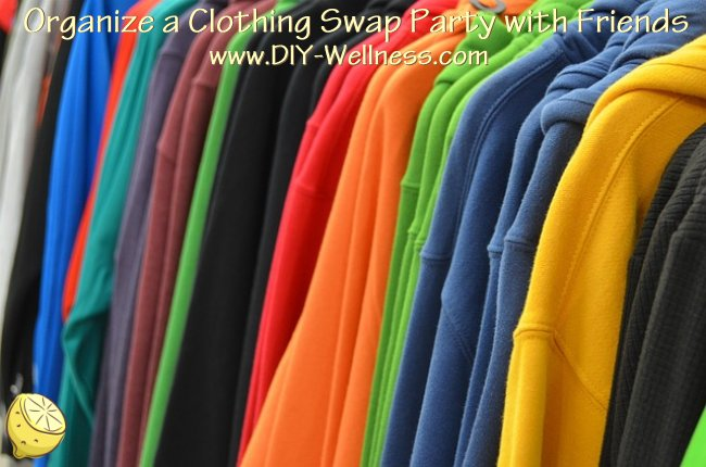 Organize a Clothing Swap Party with Friends