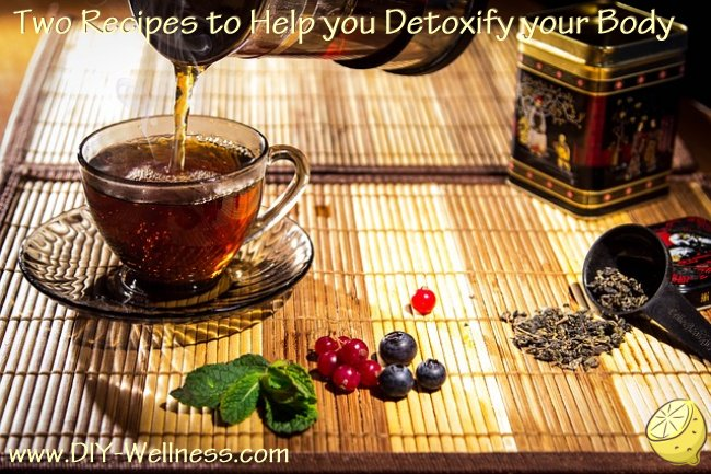 Two Recipes to Help you Detoxify your Body