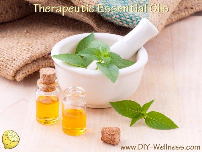 Therapeutic Essential Oils