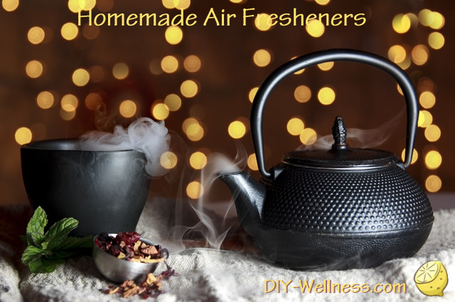 Homemade Air Fresheners. A free article from DIY-Wellness.com!